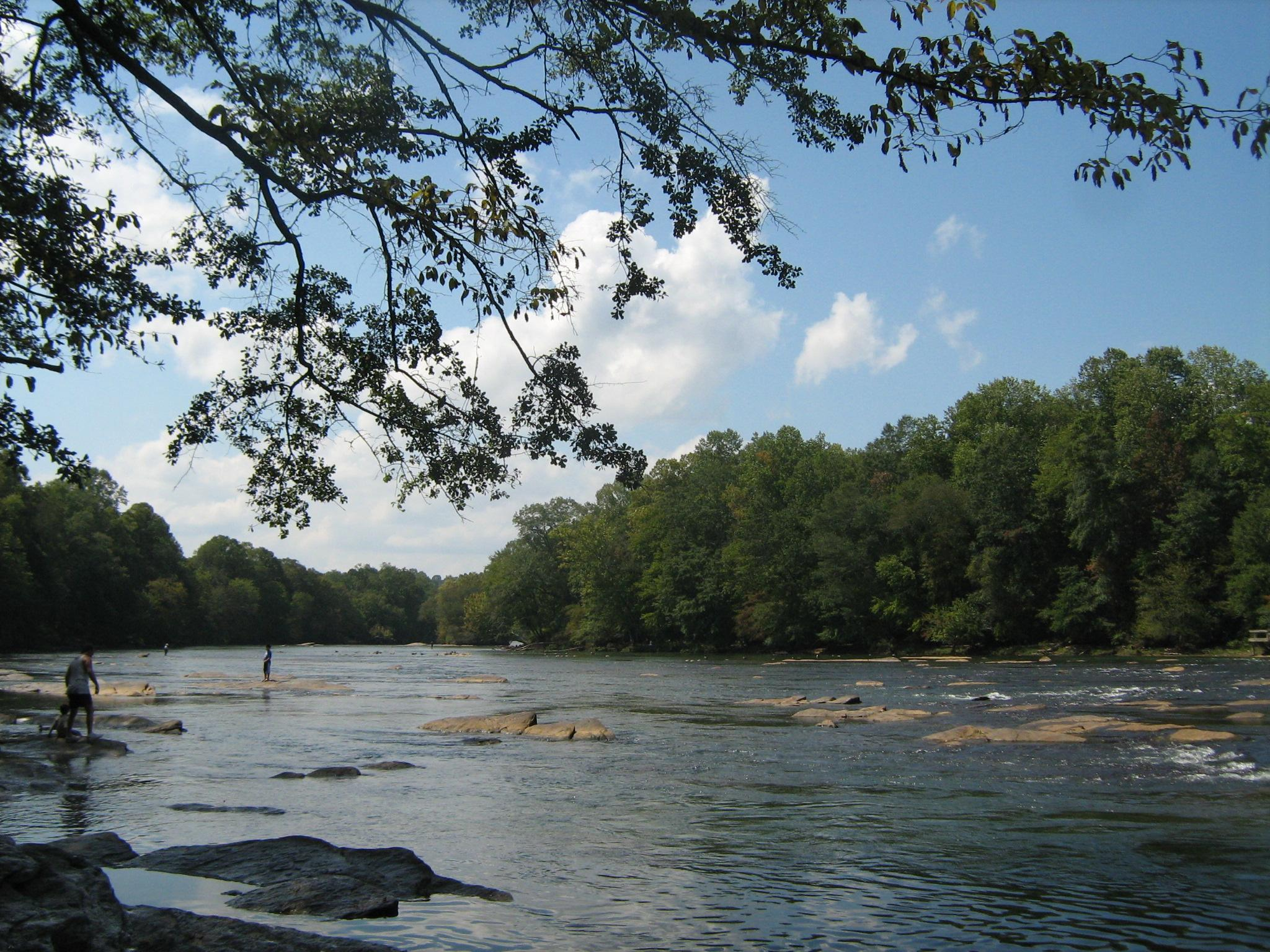The Chattahoochee River in Georgia, just downstream from Lake Lanier (Mike Gonzalez/Wikimedia Commons)